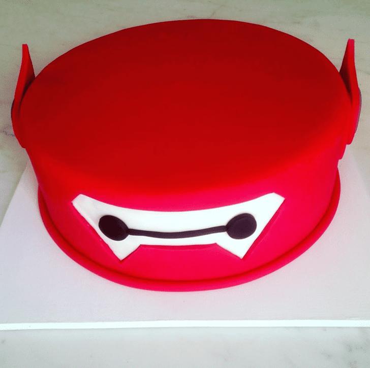 Slightly Big Hero 6 Cake