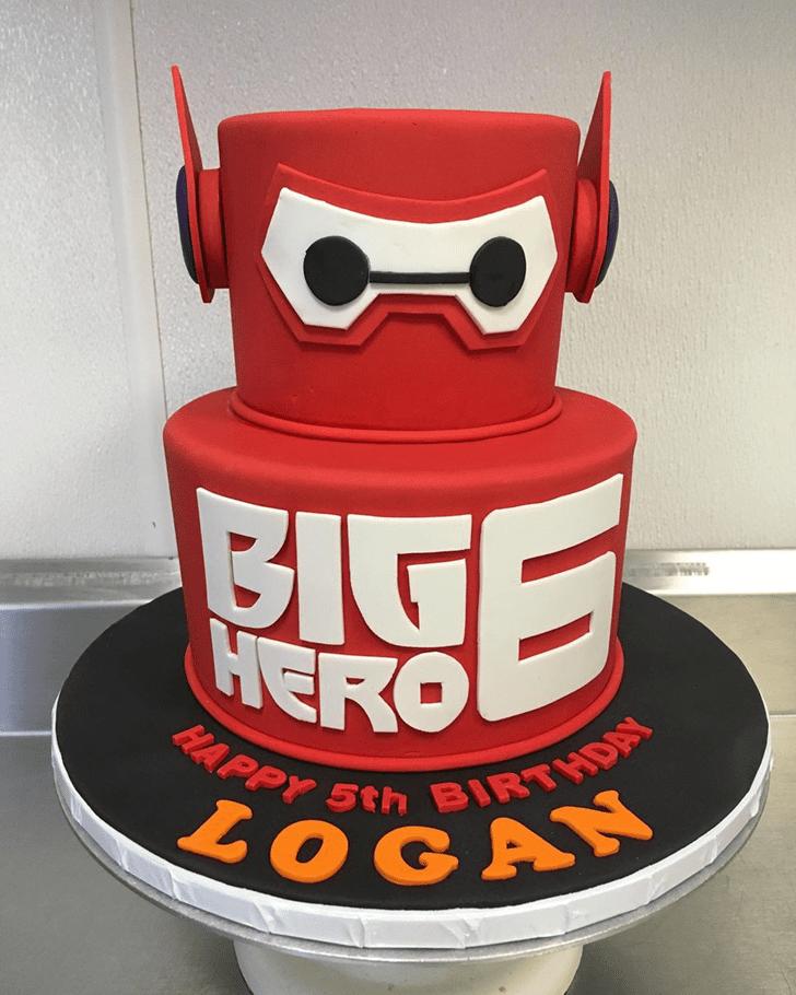 Superb Big Hero 6 Cake