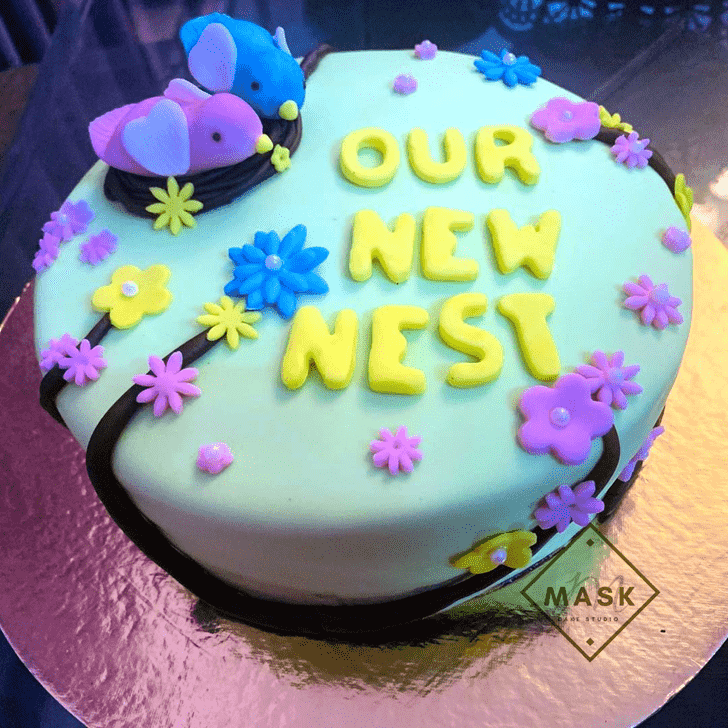 Angelic Bird Nest Cake