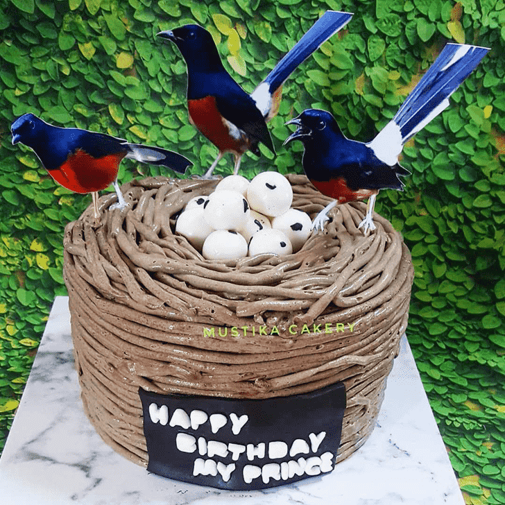 Captivating Bird Nest Cake