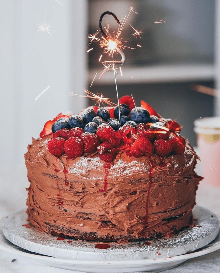 Admirable Black Forest Cake Design