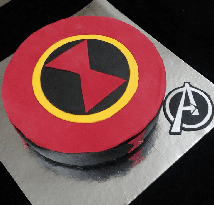 Bewitching Black Widow Cake
