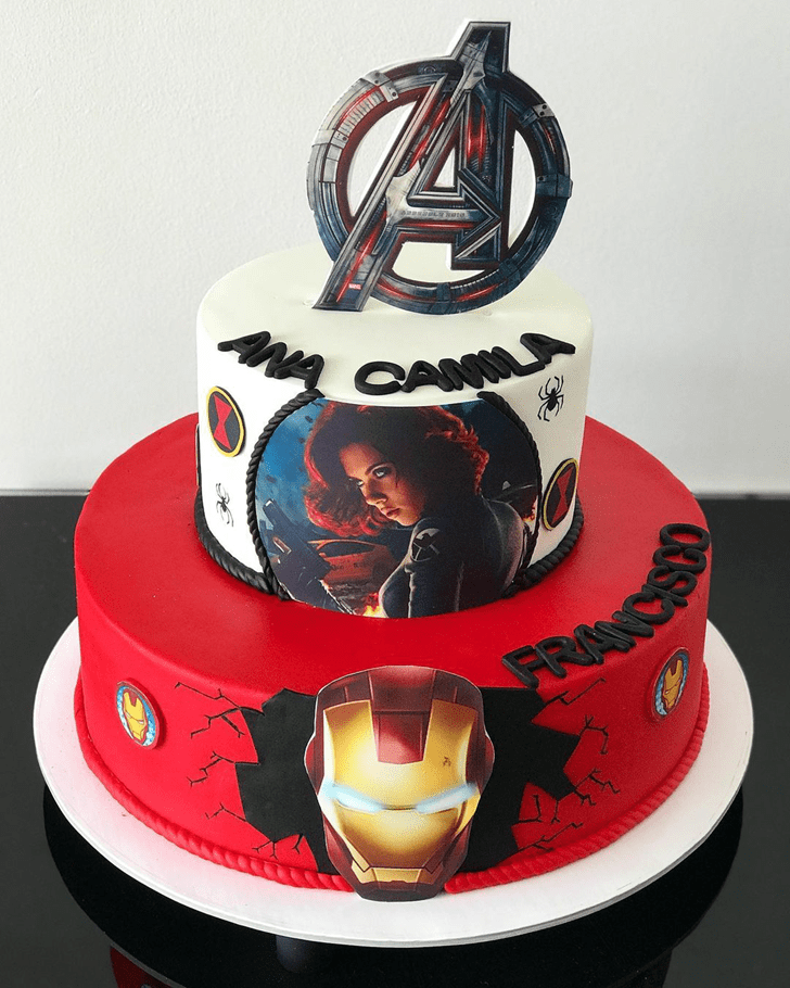 Captivating Black Widow Cake