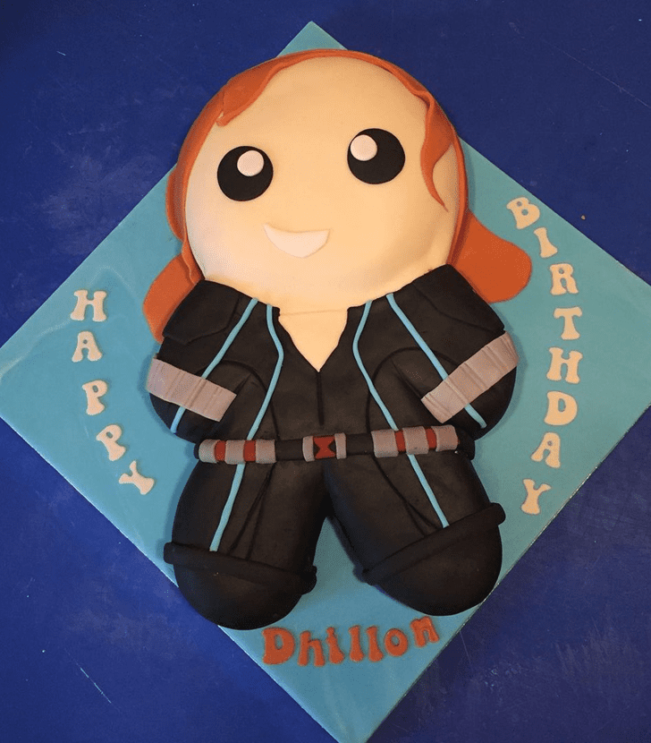 Charming Black Widow Cake