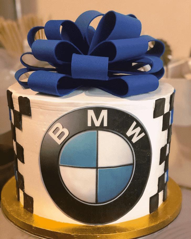 Adorable BMW Cake