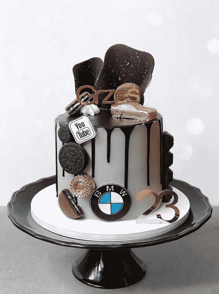 Angelic BMW Cake