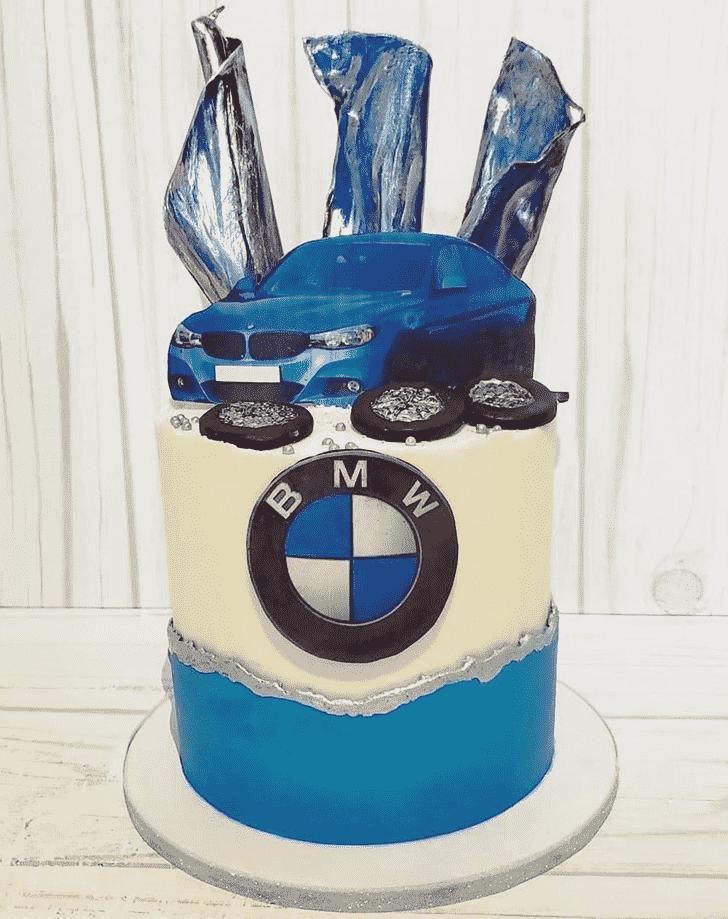 Captivating BMW Cake