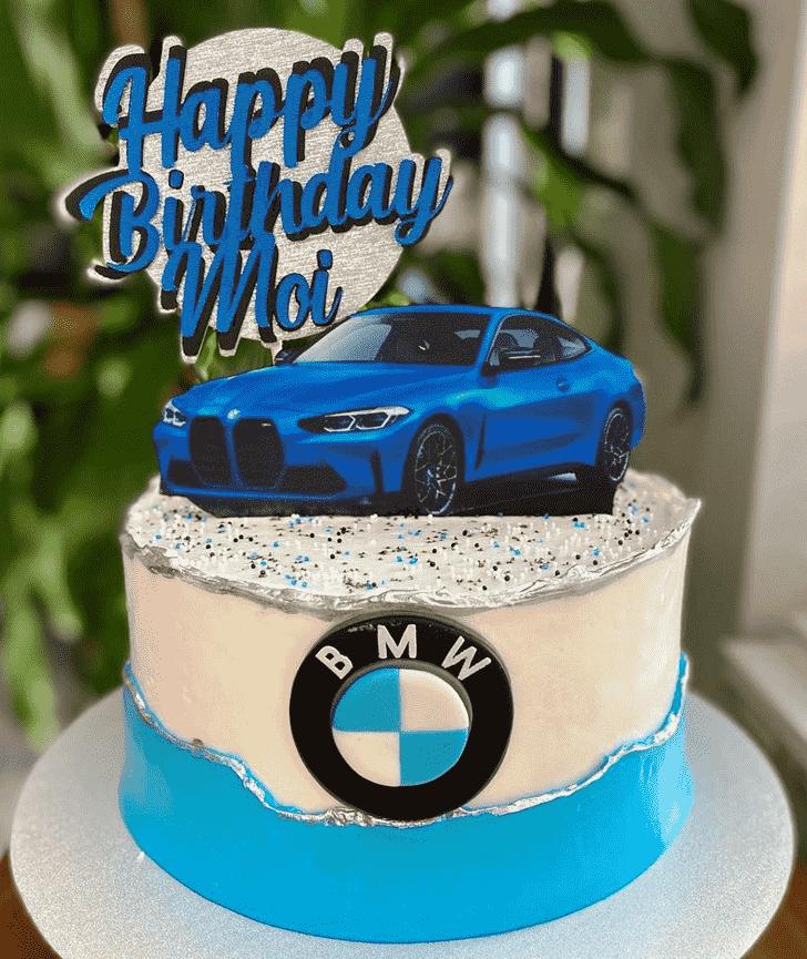 Charming BMW Cake