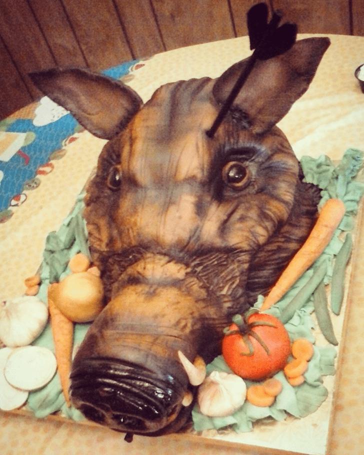 Enticing Boar Cake