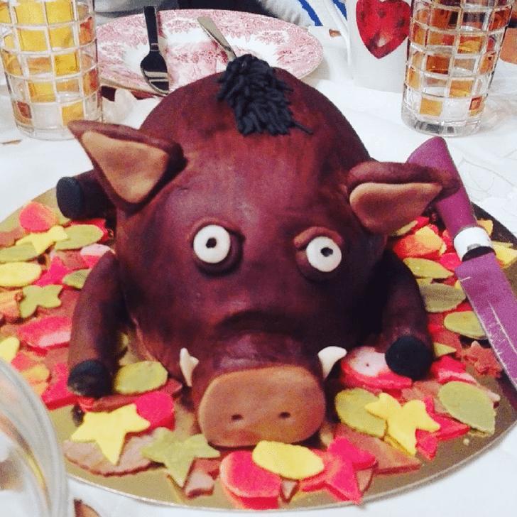 Attractive Boar Cake
