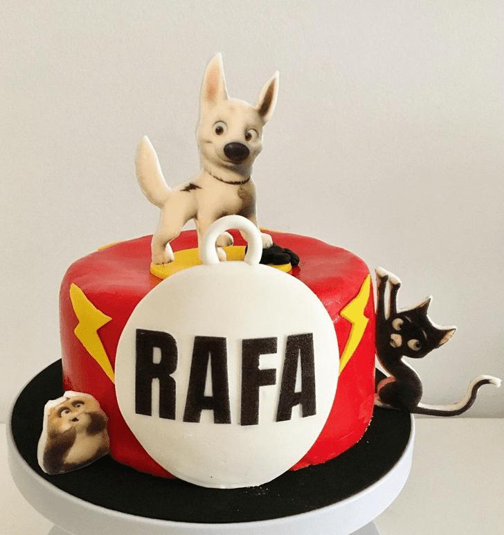 Adorable Bolt Movie Cake