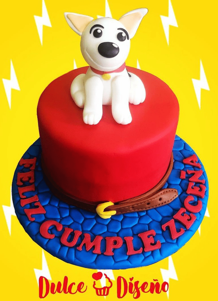 Appealing Bolt Movie Cake