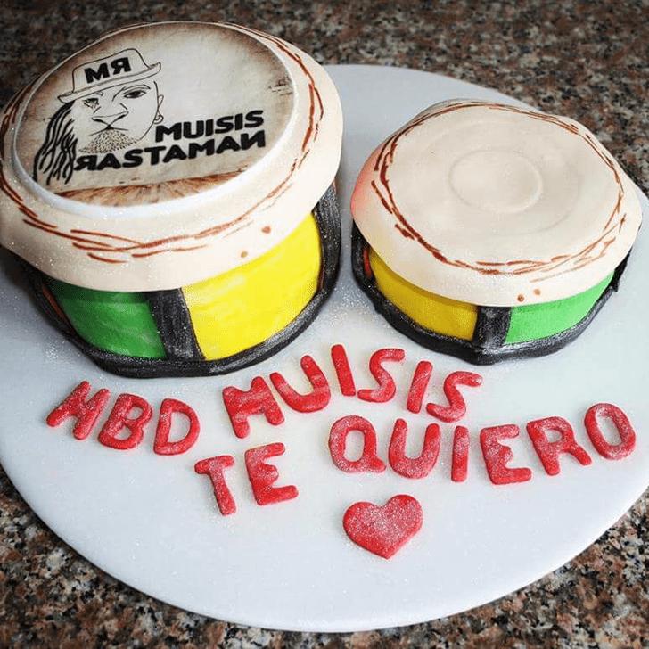Beauteous Bongo Cake