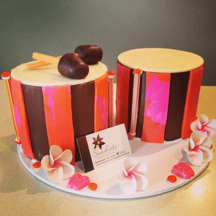 Charming Bongo Cake