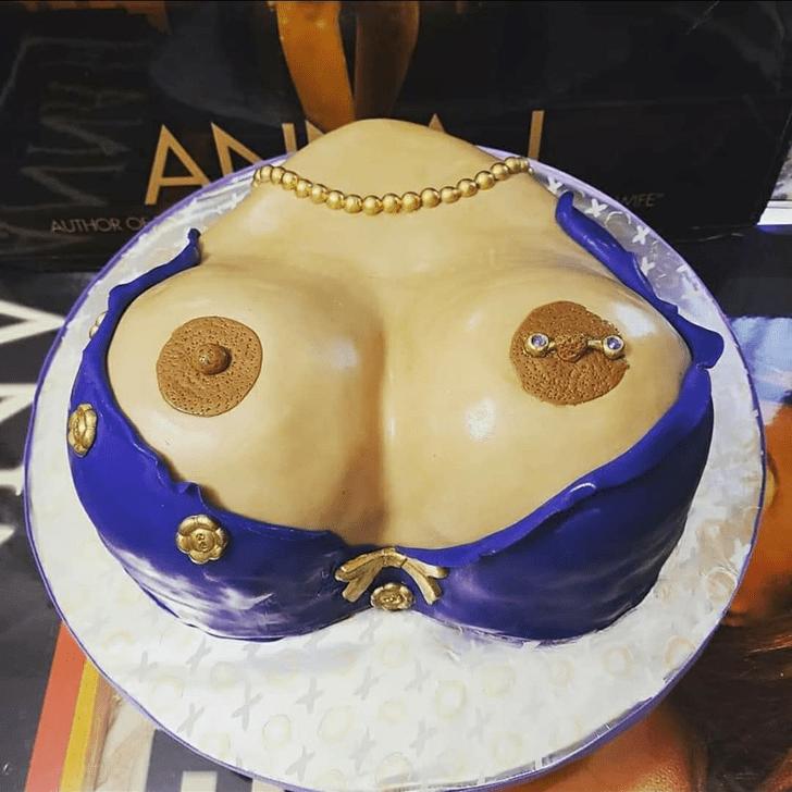 Classy Boob Cake