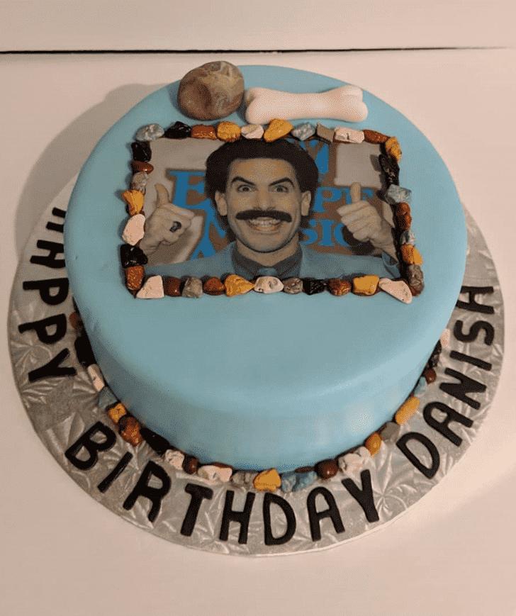 Admirable Borat Cake Design