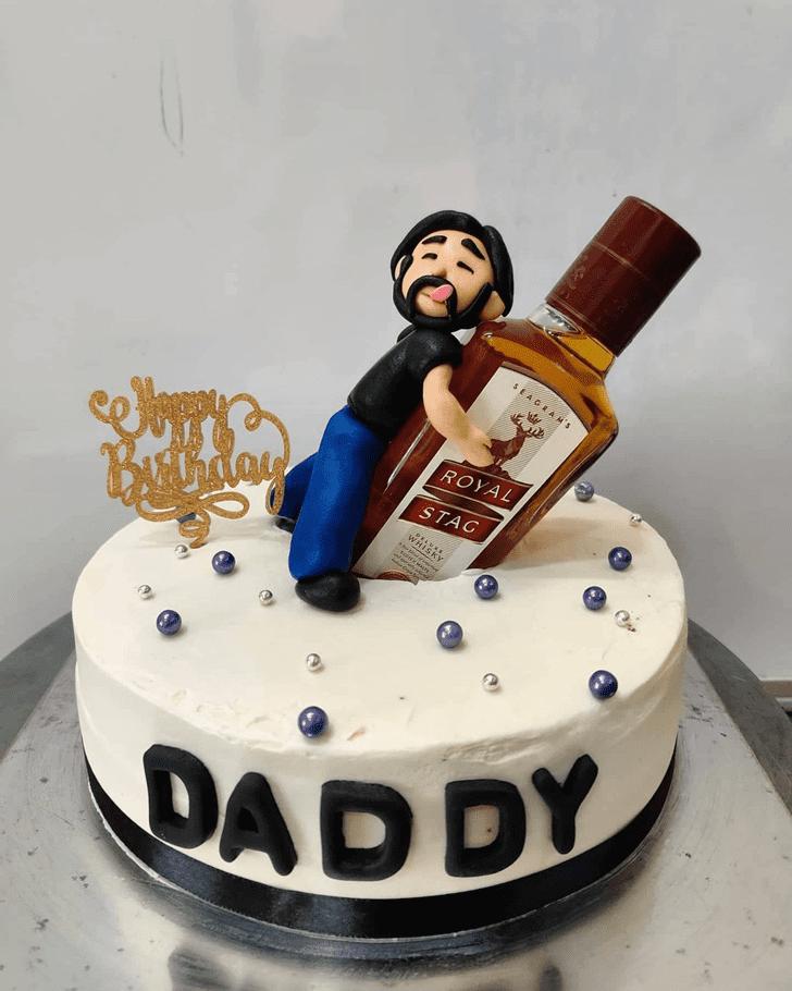 Alluring Bottle Cake