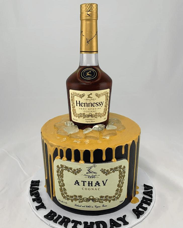 Appealing Bottle Cake
