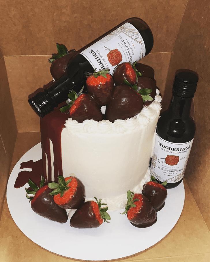 Bewitching Bottle Cake