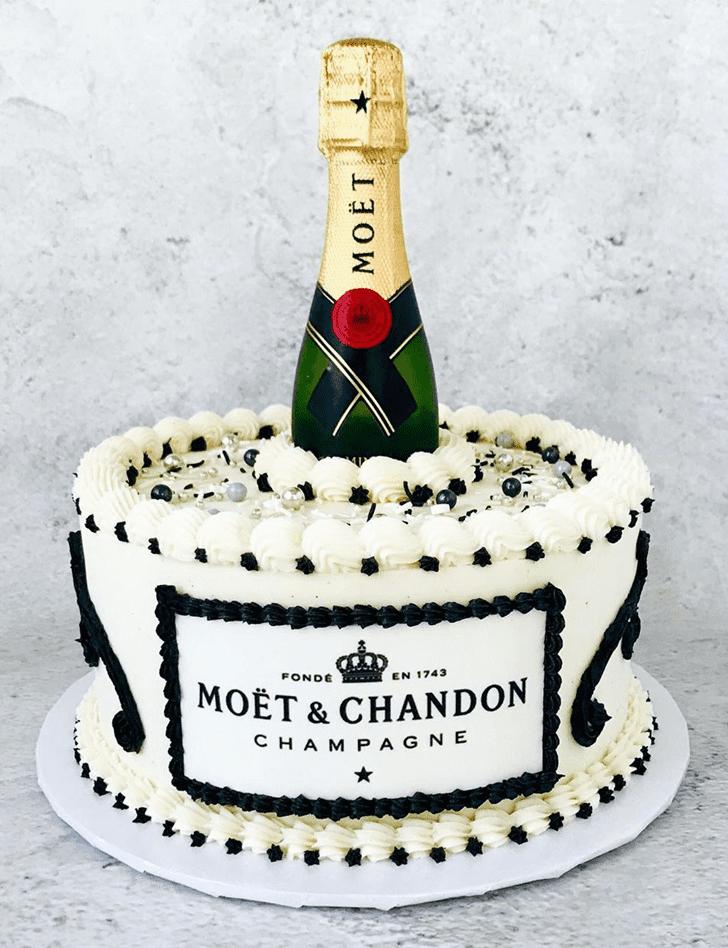 Classy Bottle Cake