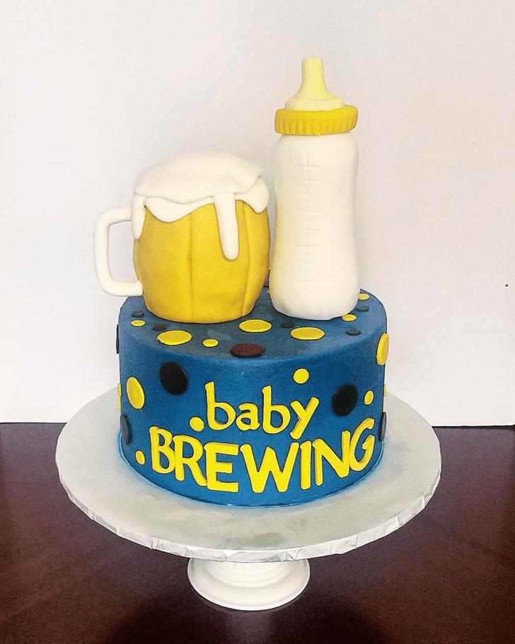 Dazzling Bottle Cake