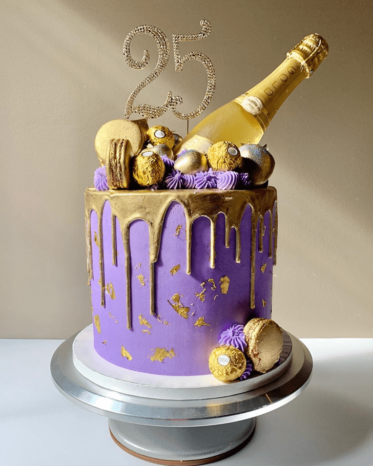 Delightful Bottle Cake