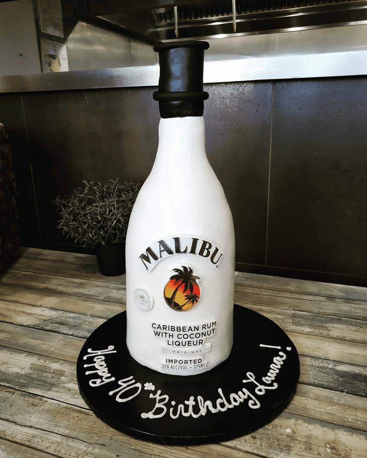 Exquisite Bottle Cake