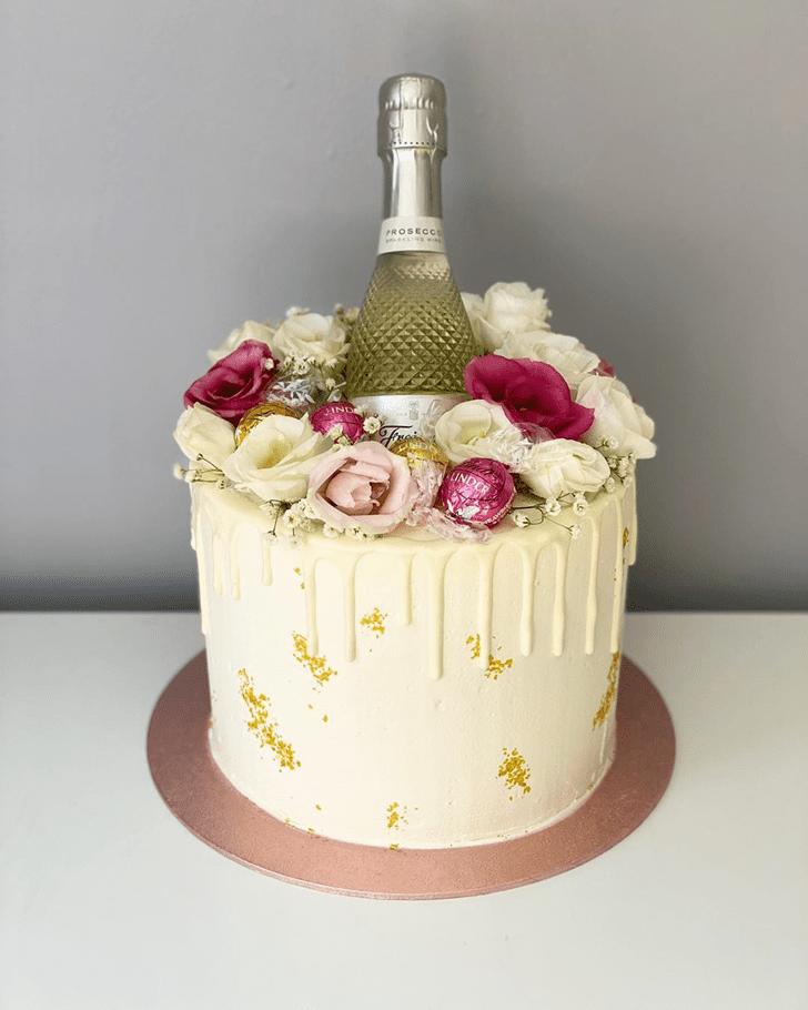 Fascinating Bottle Cake