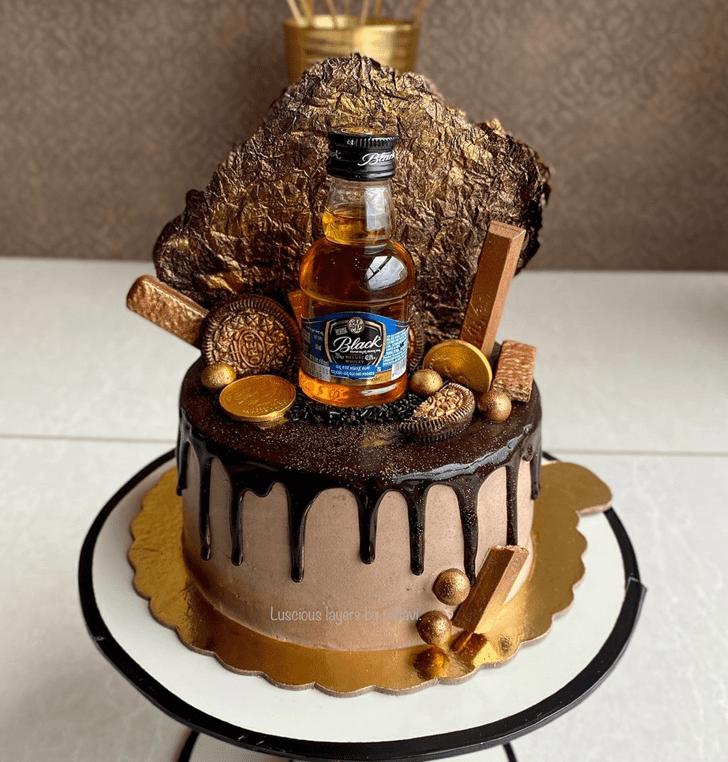 Gorgeous Bottle Cake