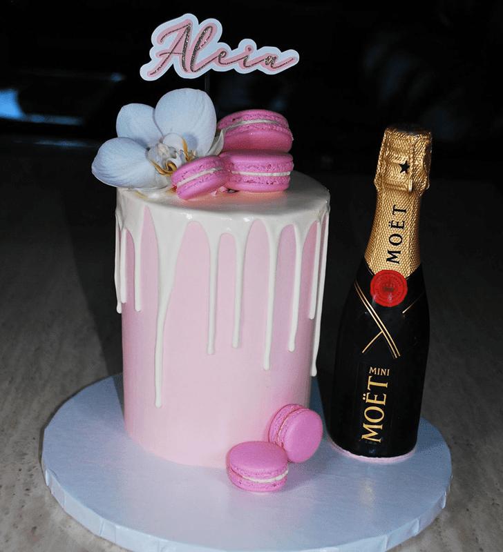 Grand Bottle Cake