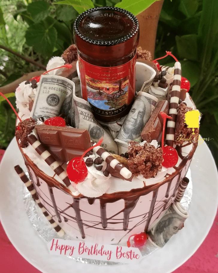 Magnetic Bottle Cake