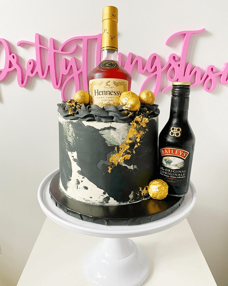 Marvelous Bottle Cake