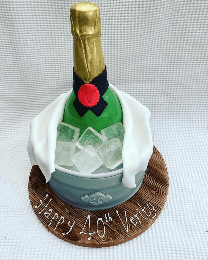 Mesmeric Bottle Cake
