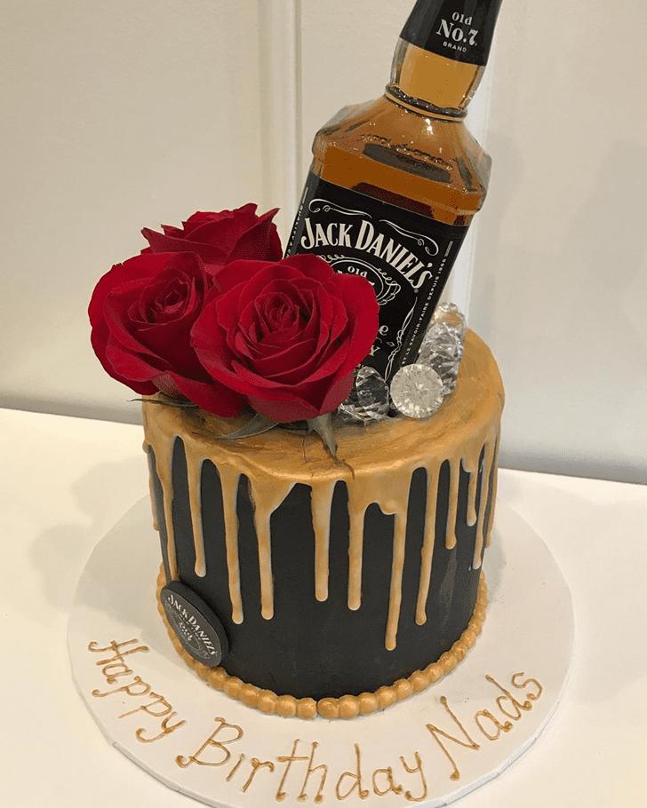 Nice Bottle Cake