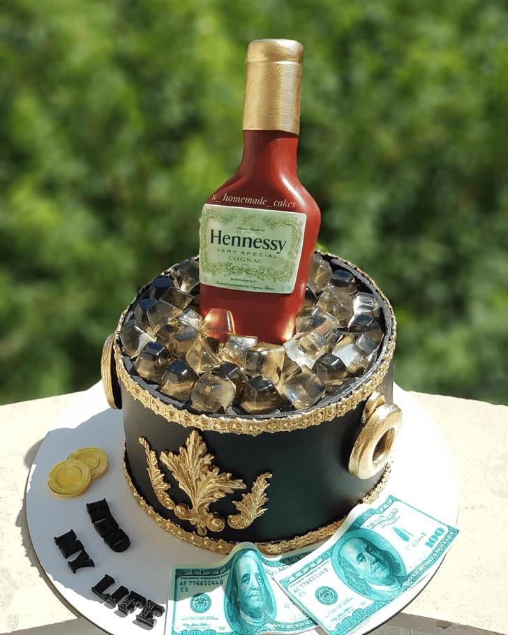 Pleasing Bottle Cake