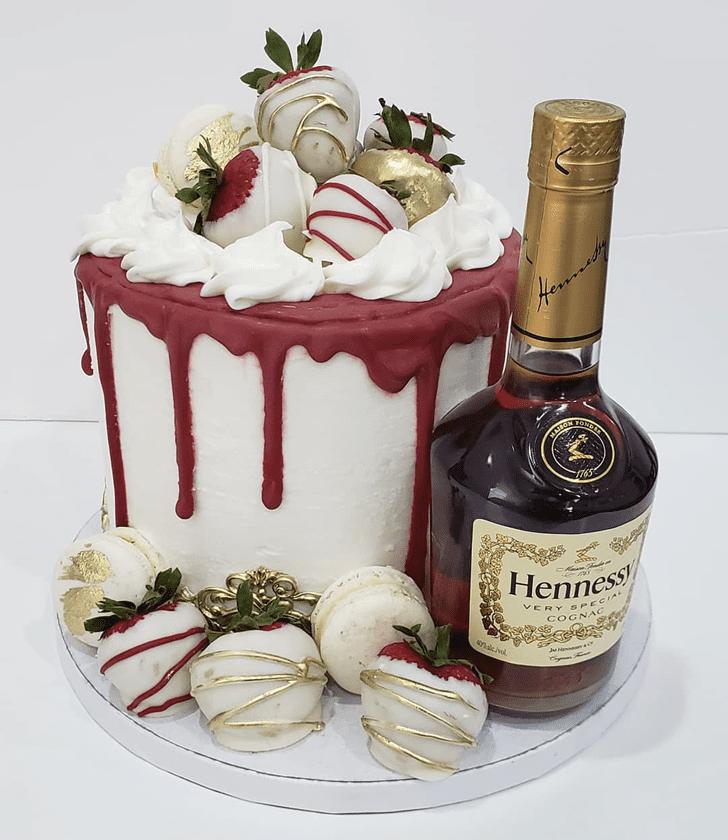 Ravishing Bottle Cake