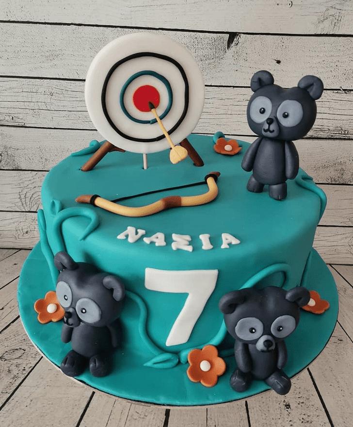 Admirable Brave Movie Cake Design