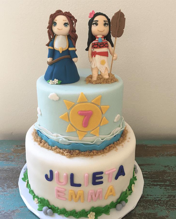 Adorable Brave Movie Cake