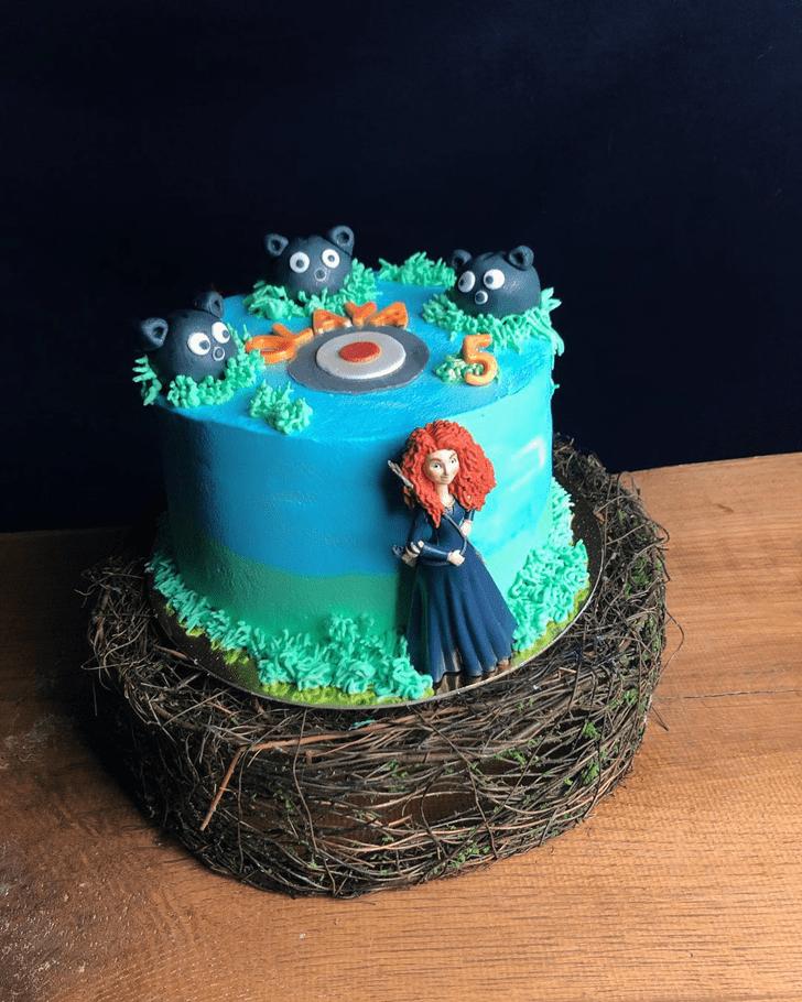 Alluring Brave Movie Cake