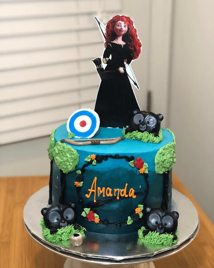 Appealing Brave Movie Cake