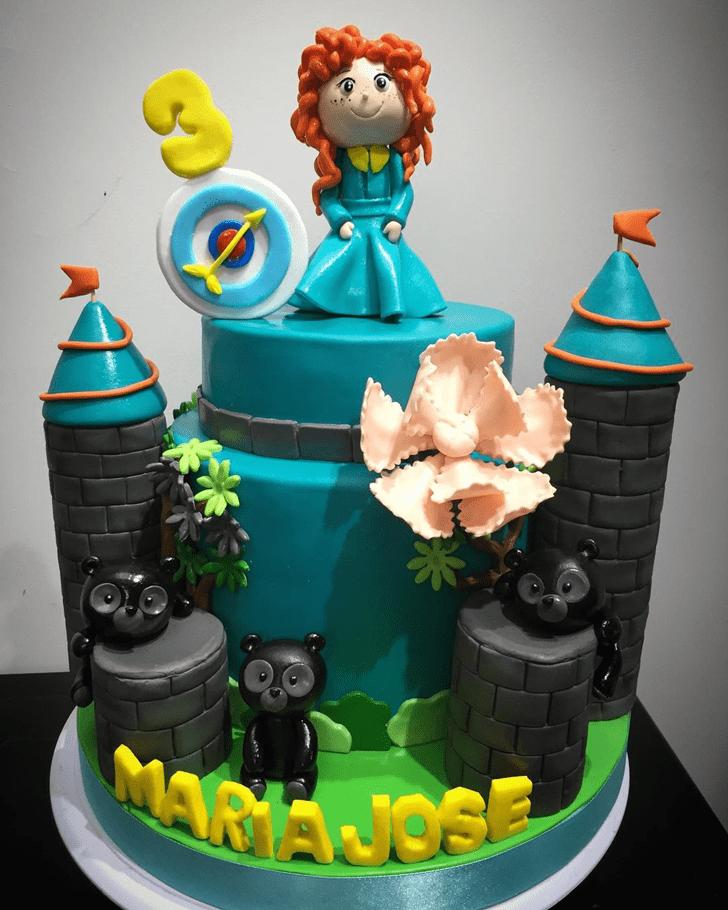 Beauteous Brave Movie Cake