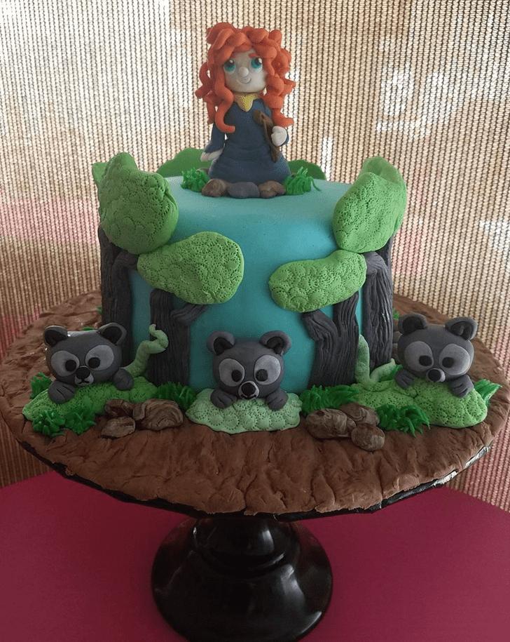 Charming Brave Movie Cake