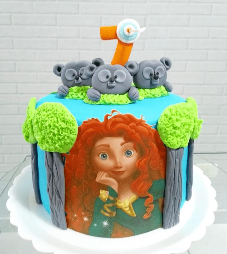 Cute Brave Movie Cake