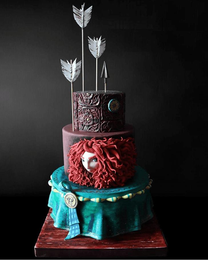 Delicate Brave Movie Cake