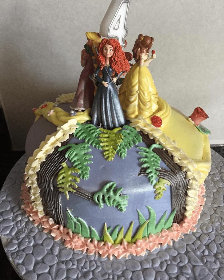 Excellent Brave Movie Cake
