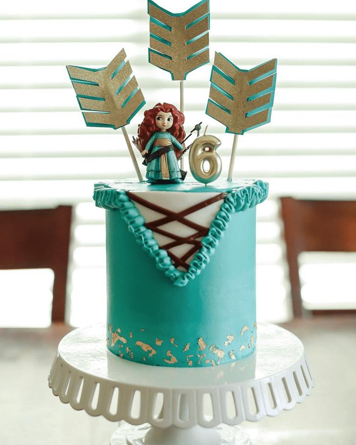Exquisite Brave Movie Cake