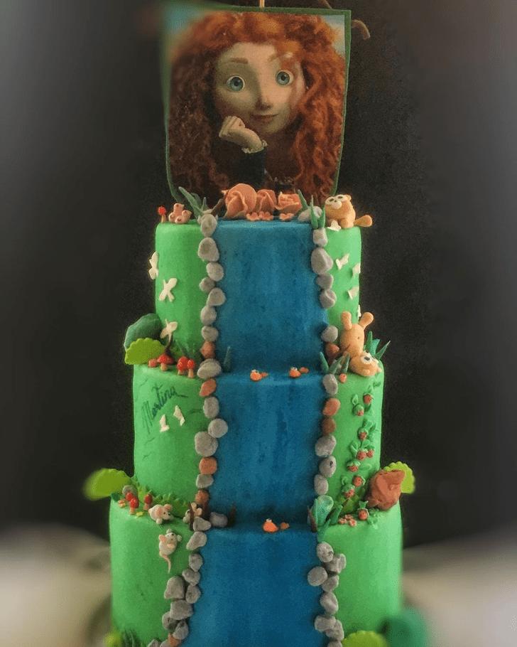 Fascinating Brave Movie Cake