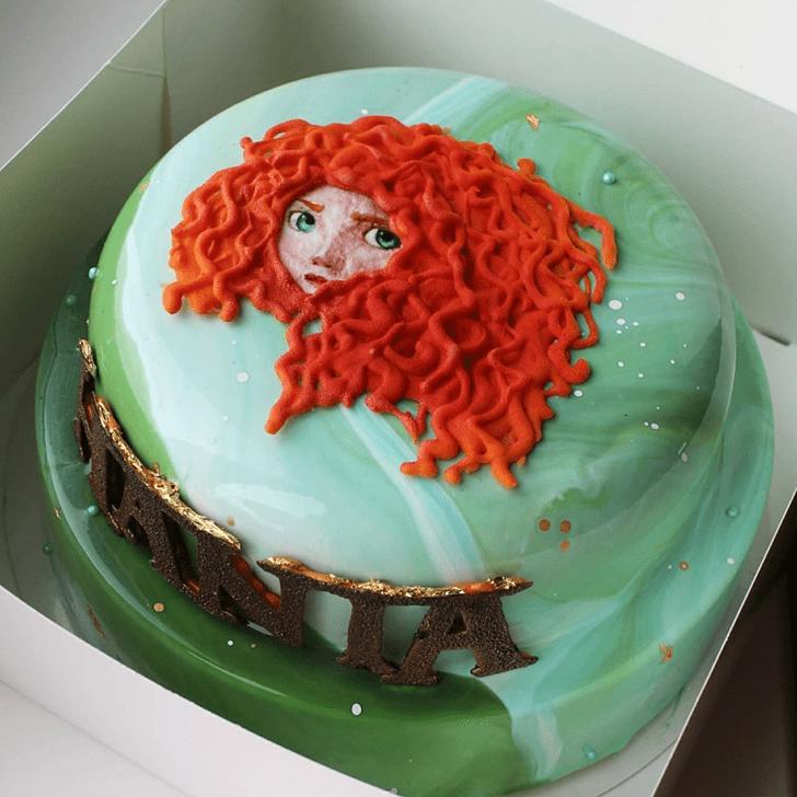 Fine Brave Movie Cake