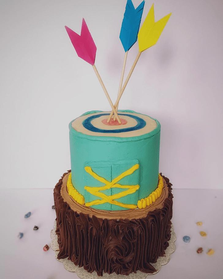 Gorgeous Brave Movie Cake