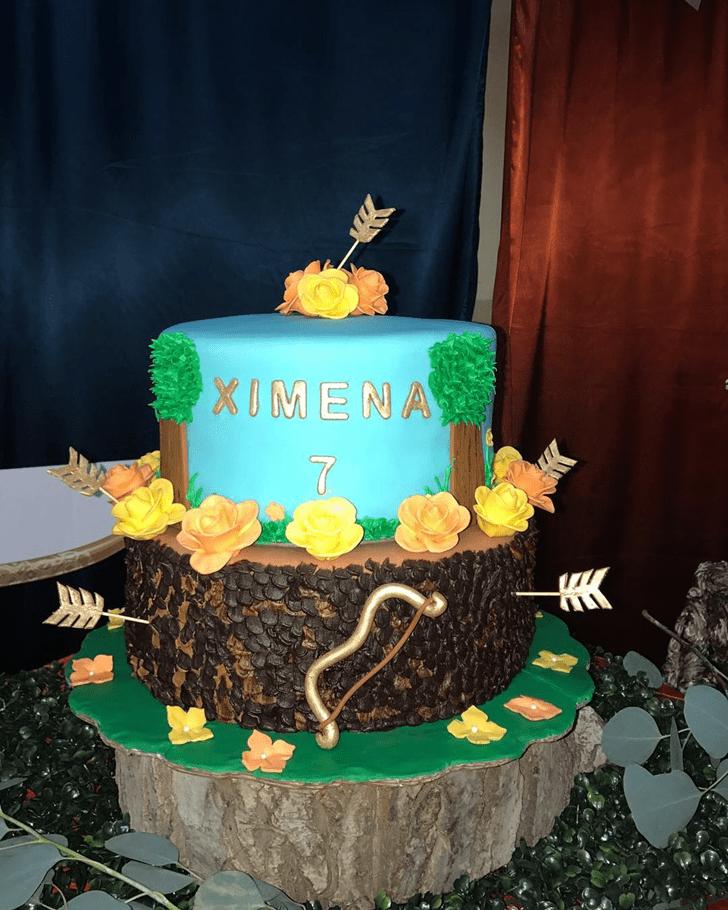 Grand Brave Movie Cake